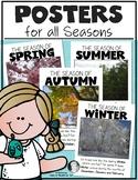 Seasons Posters for Kindergarten & First - Create a Classr