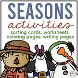 Four Seasons Activities and Season Sorting