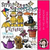 Season Spring clip art - COMBO PACK- by Melonheadz