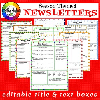 Season-Themed Newsletters