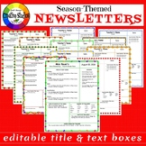 Season-Themed Newsletters