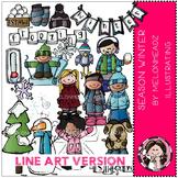 Melonheadz: Season Winter LINE ART