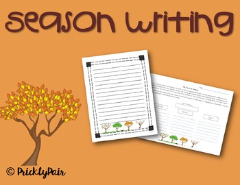 Season Writing (Organizer and Paper)