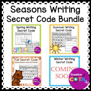 Season Writing Secret Code Growing Bundle