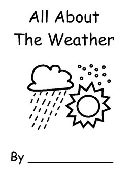 Season and Weather Booklets
