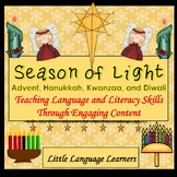 ESL Activities: Christmas, Hanukkah, Kwanzaa and Diwali for ELL Newcomers Too