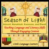 Christmas ESL, Hanukkah, Kwanzaa and Diwali ESL Activities