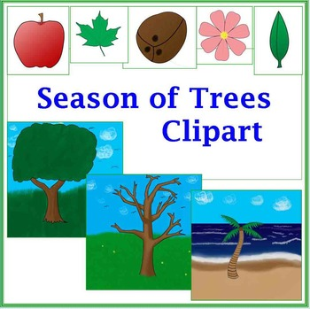 Season of Trees Clipart for Commerical Use