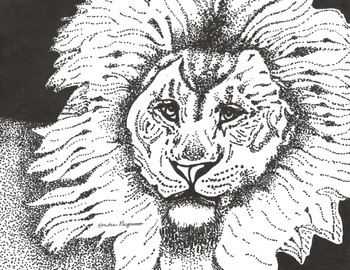 Season of the Lion Coloring Sheet