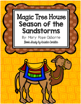 Magic Tree House #34 Season of the Sandstorms