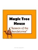 Season of the Sandstorms Magic Tree House #34 Comprehensio
