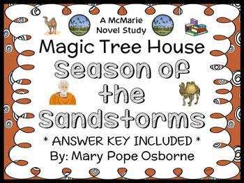 Season of the Sandstorms : Magic Tree House #34 Novel Study / Comprehension