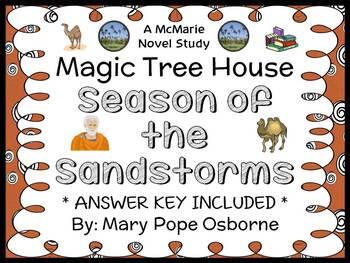 Season of the Sandstorms : Magic Tree House #34 Novel Stud