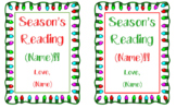 Season's Reading Name Tags