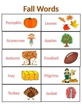 Season word chart
