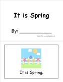 ItIsSpringSightWordBook