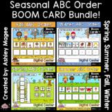 Seasonal ABC Order BOOM CARD Bundle - Digital Learning