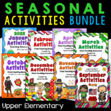 Holiday and Seasonal Activities Bundle (Lessons, Activitie