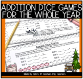 Addition Dice Games For the Year