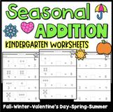 Seasonal Addition Worksheets
