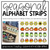 Seasonal Alphabet Strips
