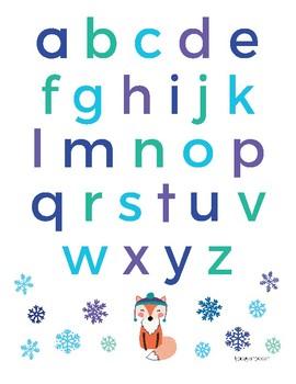 Seasonal Alphabet: Winter