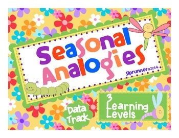 Spring Analogies 3 learning levels - no prep