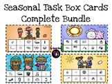 Seasonal Artic & Language Task Box Cards