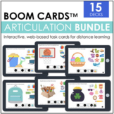 Seasonal Articulation BOOM CARDS™ | Distance Learning