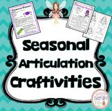 Seasonal Articulation Craftivities
