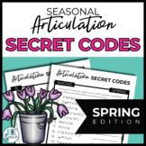 NO PREP Seasonal Articulation Secret Codes for Speech - SPRING Edition