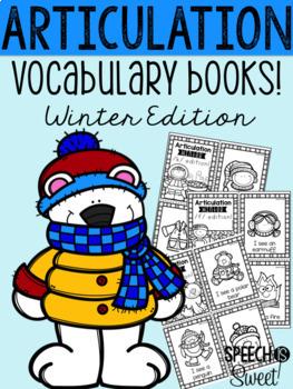 Seasonal Articulation Vocabulary Books Bundle!