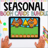 Seasonal BOOM Cards Mega Bundle | Digital Task Cards for t