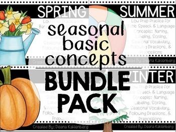 Seasonal Basic Concepts {BUNDLE PACK}