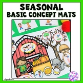 Basic Concepts Speech Therapy Smash Mats