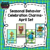 Seasonal Behavior Brag Tags- April Set