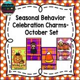 Seasonal Behavior Celebration Charms- October Set