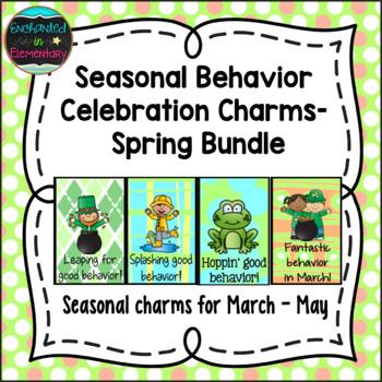 Seasonal Behavior Brag Tags- Spring Bundle