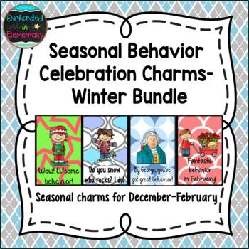 Seasonal Behavior Brag Tags- Winter Bundle