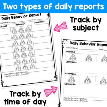 Seasonal Behavior Report Cards