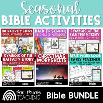 Seasonal Bible Activities, upper elementary
