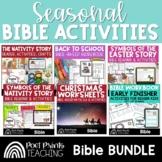 Seasonal Bible Activities, upper elementary