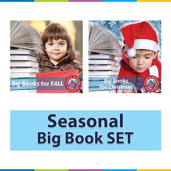 Seasonal Big Book SET Gr. PK-1