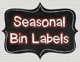 Seasonal Bin Labels