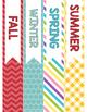 Seasonal Binder Spines & Covers FREEBIE