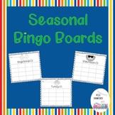 Seasonal Bingo Boards