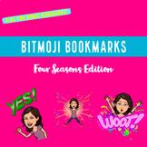 Bitmoji Bookmarks For Each Season