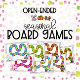 Seasonal Open-Ended Board Games