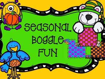 Seasonal Boggle Fun