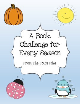 Seasonal Book Challenge - Read Different Genres